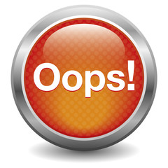 Red Oops button