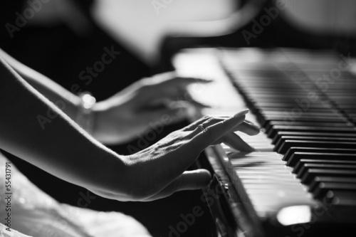 Playing piano © llhedgehogll