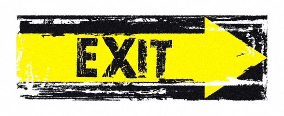 EXIT - Schild