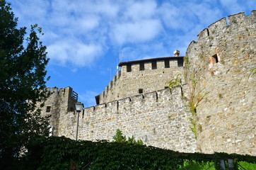 Gorizia Castle a Medieval Fortress, Italy