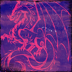 tapisserie dragon