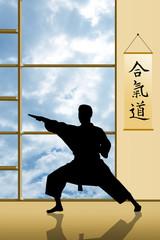 illustration of karate