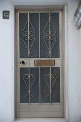porta metallo oro vetro