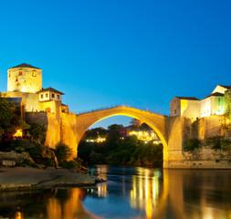 Mostar old bridge.