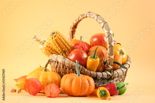 vegetarian basket