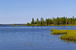 Cape at White Sea-Baltic Canal, Karelia