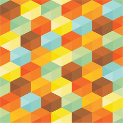 Geometric Background - Abstract Seamless Pattern