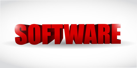 software d text illustration design