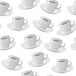 coffee cup seamless pattern