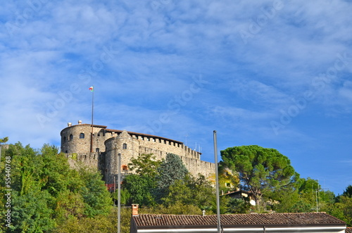 Gorizia Castle dominating the city