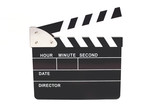 Digital Clapperboard isolated