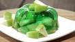Rotating Apple Jello