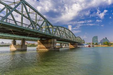 Danube Bridge near Rivergate, Vienna