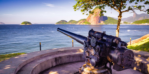 Cannon at a fort