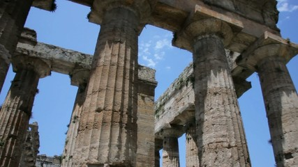 Collumns of an Ancient Greek Temple
