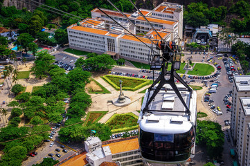 Cable car over Urca