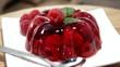 Rotating Rapsberry Jello