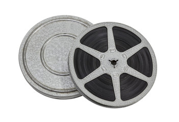 Vintage Film Reel and Can