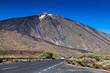 Car Approaching to Teide Volcano, Tenerife