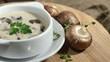 Rotating Mushroom Soup