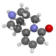 Cytisine (baptitoxine, sophorine) smoking cessation drug