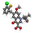 Elvitegravir HIV treatment drug (integrase inhibitor)