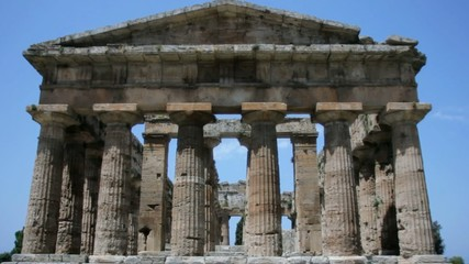 Front view Ancient Greek Temple