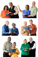 Six Singing Senior Couples
