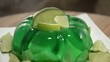 Rotating Lime Jello