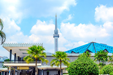 National Mosque of Malaysia in Kuala Lumpur, Malaysia at suumer.