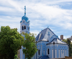 Sacred Elizabeth's church (Blue church, 1913).