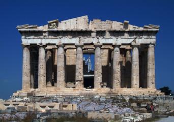 パルテノン神殿:正面全景