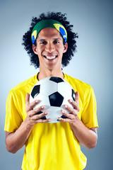 Brazil soccer man