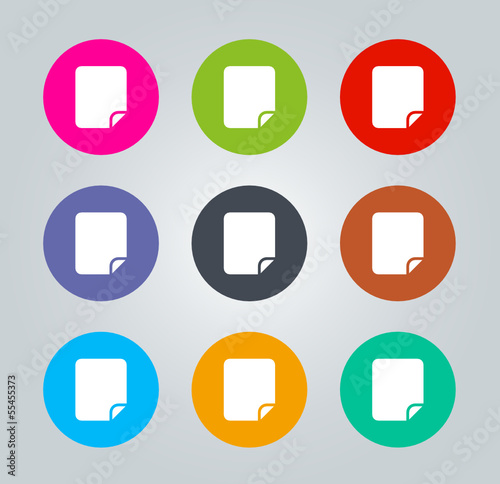 File - Metro clear circular Icons