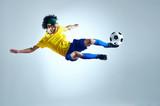 Fototapety soccer goal