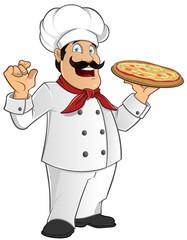 Cocinero pizza