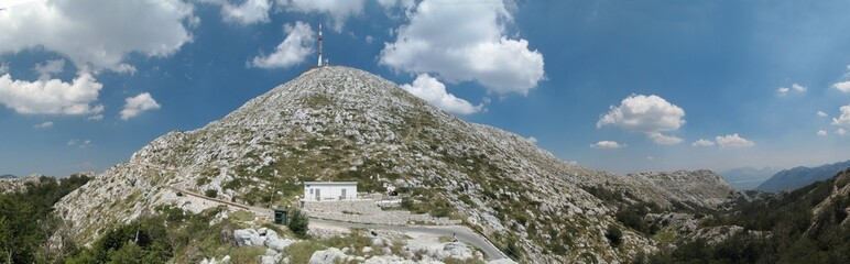 Sv. Jure - the highest moumtain in mountain range Biokovo