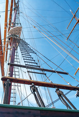 rope ladder of the ship