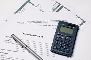 Wohnungs - Mietvertrag