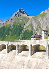 Morasco dam, Riale - Formazza valley