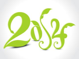 Eco New Year Design
