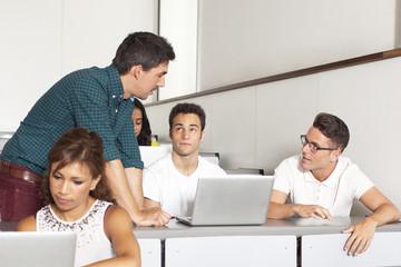 Studenten fragen Professor