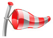 Weather icon clipart wind sock illustration