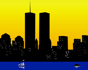 the twin towers in the United States of America