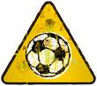 soccer / football sign, vector