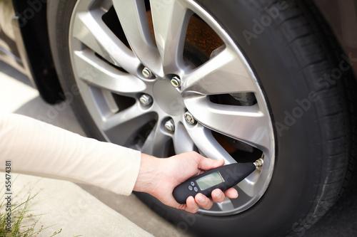 Tire pressure sensor.