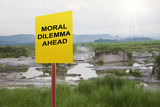 Moral Dilemma Ahead poster