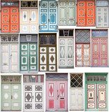 Different old style doors