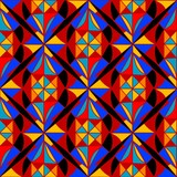 Kaleidoscope  Seamless pattern