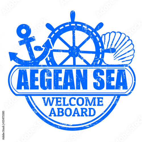 Aegean Sea stamp